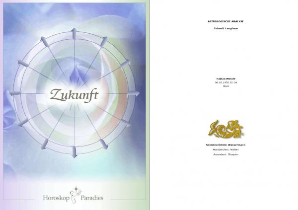 Deckblatt - Jahreshoroskop
