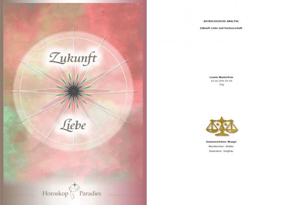 Deckblatt - Jahreshoroskop Liebe